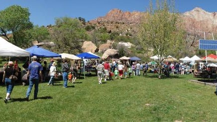 The Zion Canyon Earth Day Celebration will celebrate its 10th anniversary Saturday in Springdale.
