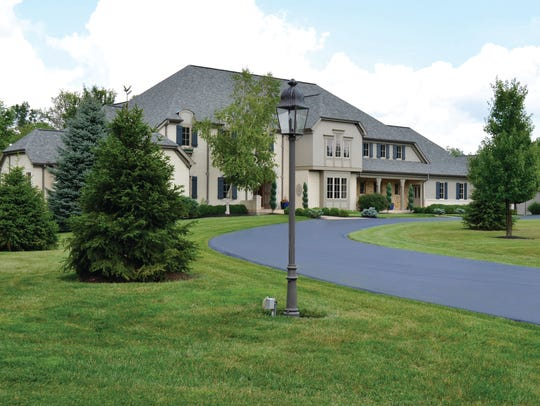 This single-family home on 3.5 acres of land at 6755