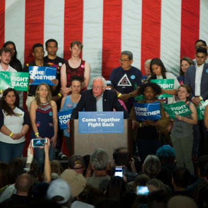 Sen. Bernie Sanders, DNC Chair Tom Perez rally in Mesa with aim of unifying Democrats