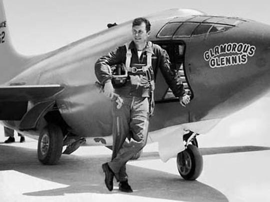 On Oct. 14, 1947, 24-year-old Capt. Chuck Yeager piloted the experimental rocket-propelled Bell Aircraft XS-1, through the sound barrier.