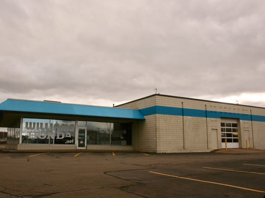 The former Williams Honda dealership at 465 E. Water St. in Elmira.