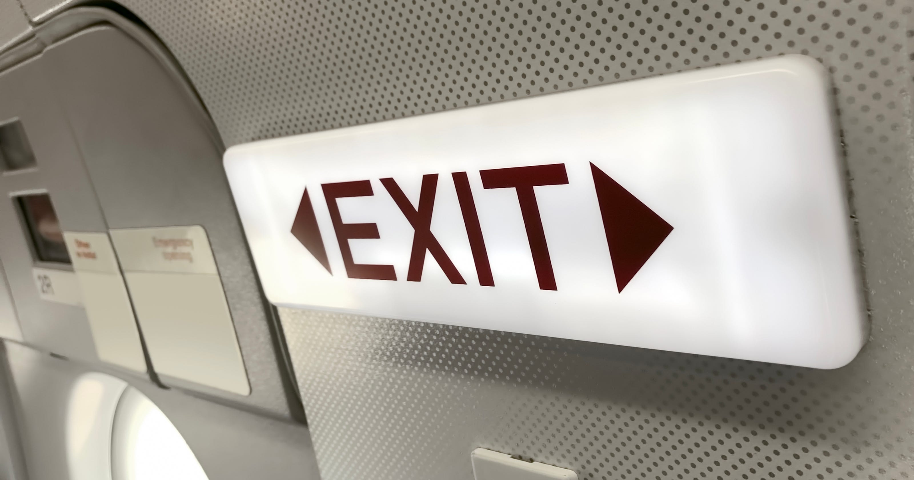 Airplane evacuation tests: Are they up to date?