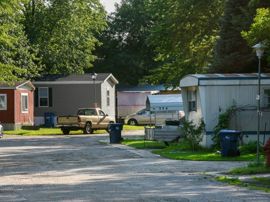 After some residents were with out water for a week, the Sartell Mobile Home Park is back to normal Tuesday, July 10, in Sartell.
