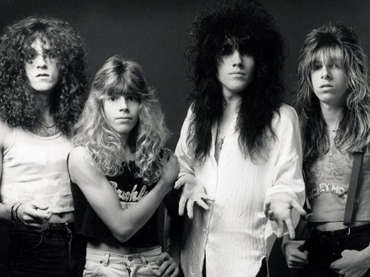 The 1980s heavy metal band Tuff Luck is the subject of a new documentary about the band that almost made it to the big time. (Courtesy photo)