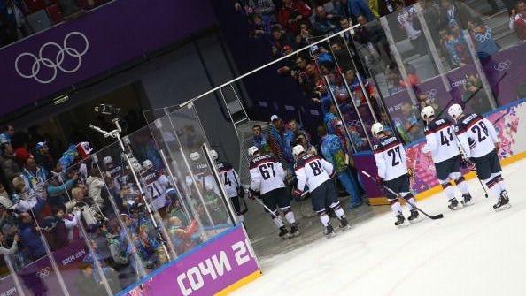 USA men's hockey team.