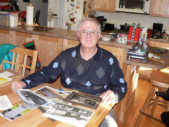 Silvan Blum, cheesemaker and family historian.