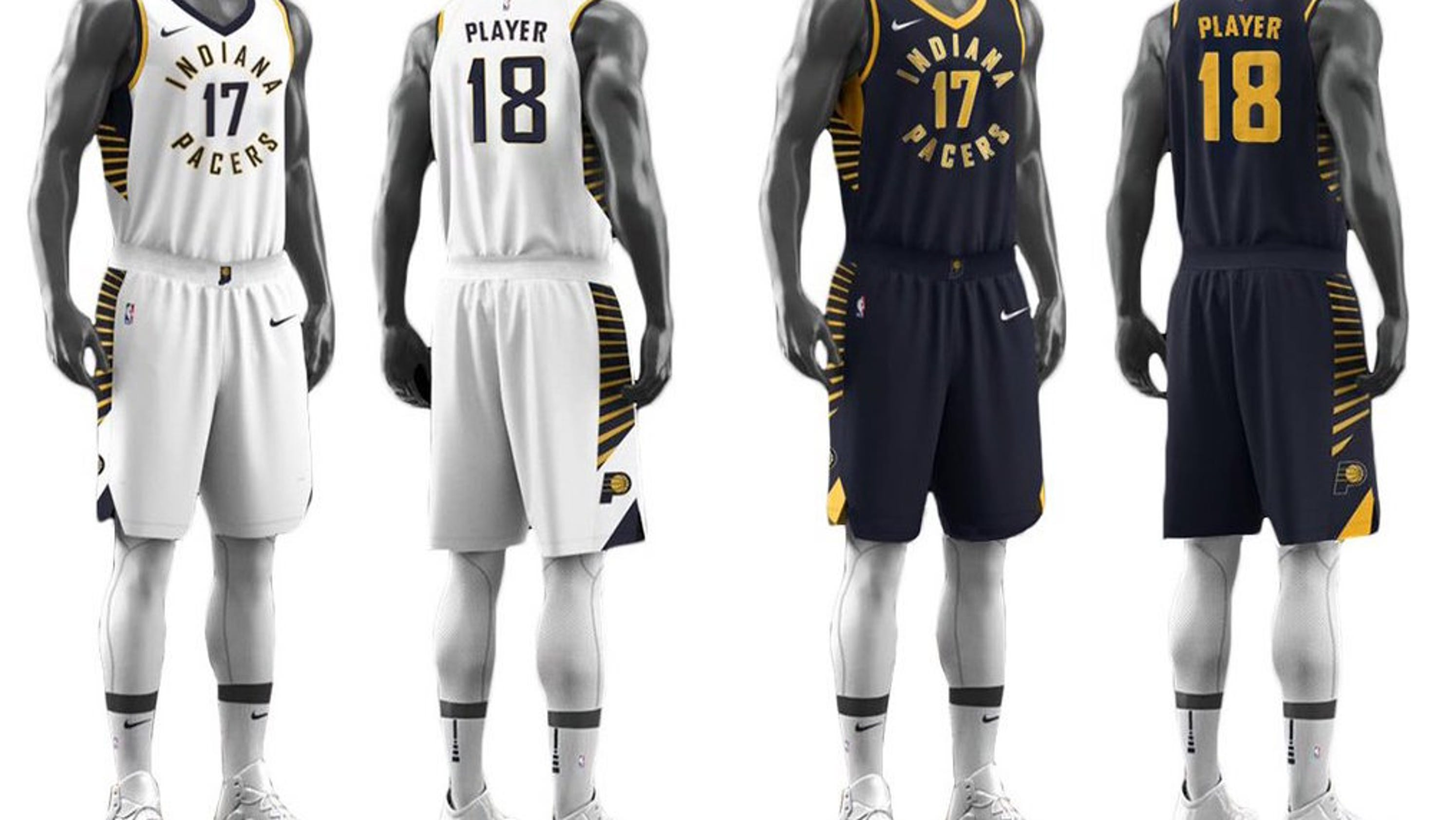 New Pacers Jerseys Are Either Great Or Awful