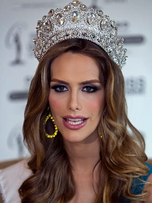 Angela Ponce, a 26-year-old representing Spain, is the first transgender contestant to compete in the Miss Universe pageant.