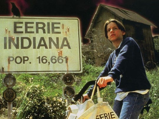 """Eerie Indiana"" debuted on NBC in 1991."