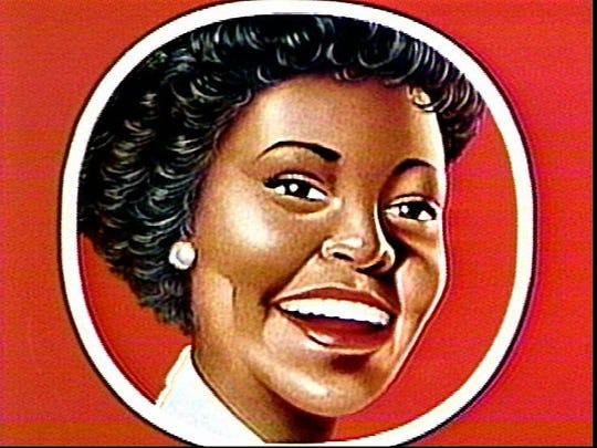 Aunt Jemima logo.
