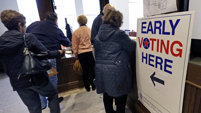Rhode Island's early in-person voting for the Sept. 8 primary election begins Wednesday.