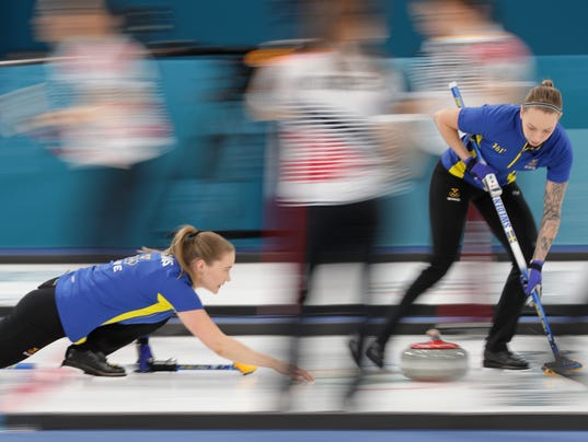 Olympics: Curling-Women Team Final 1-2