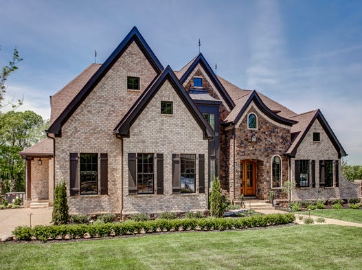 Turnberry Homes' model home is the latest version of its Westchester floor plan, which has turned out to be one of the company's greatest hits with consumers. This home is at 9399 Big Horn Ridge.