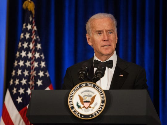 Vice President Joe Biden speaks at the Louis L. Redding
