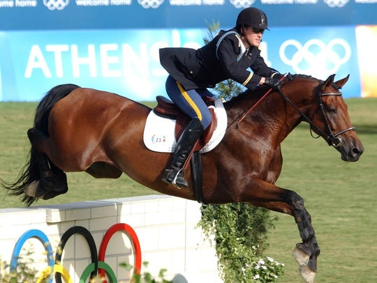 If Chad Senior's horse ride in the 2004 Olympics could