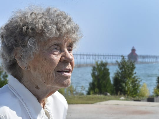Judy Meneau of Manitowoc tells the story of living