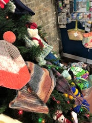 Customers to the Lost Sheep Yarn Shop in Sheboygan have donated hand-made mittens, hats, and scarves to those in need in the community.
