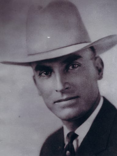 Fallen Phoenix police officers: On Feb. 5, 1925, Officer Haze Burch became the first Phoenix officer to be killed in the line of duty when he was shot as he attempted to stop two men from siphoning gasoline from a car. Burch died the next day. The assailants were later identified as two fugitives from Oklahoma that were wanted in the murder of a deputy sheriff in Texas. The men were later captured. Officer Burch was survived by his wife and three young children.