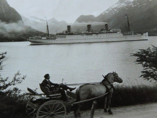 A photo from Bill Andrews' collection of works by late Norwegian photographer Anders Beer Wilse.  Wilse (a distant relative of Andrews) took this photo in the western part of Norway.