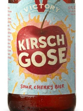 Kirsch Gose, from Victory Brewing Co. in Downingtown, Pa., is 4.7% ABV.