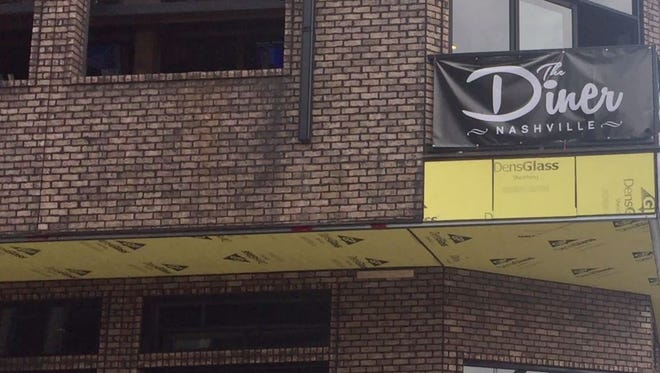 The Diner Nashville will be opened 24/7, seven-days-a-week at 200 Third Ave. S.