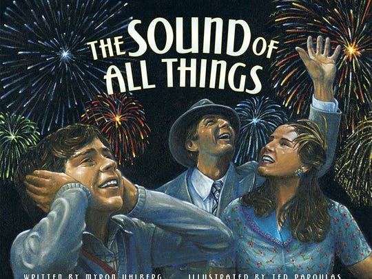 """""""The Sound of All Things,"""" illustrated by Ted Papoulas."""