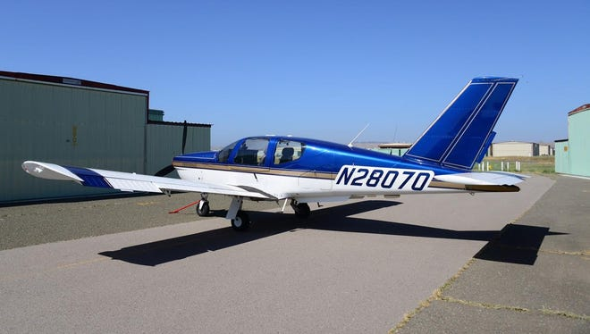 A photo of a TB20 Trinidad airplane. Authorities in Sierra County ended the search for a missing airplane carrying a couple from Truckee to Petaluma, Calif. The couple were flying in a four-seat Socata TB20 Trinidad.