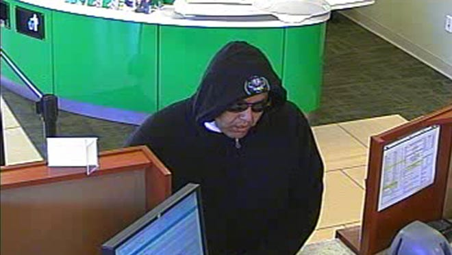 The suspect in Thursday's attempted robbery at a west side Associated Bank.