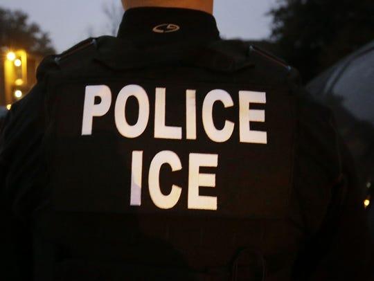 U.S. Immigration and Customs Enforcement agent