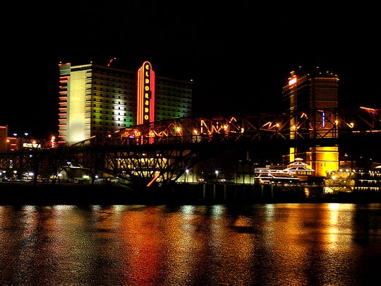 Shreveport-Bossier at Night