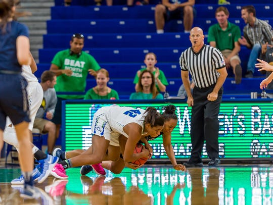 Hustle never has been a problem with FGCU sophomore