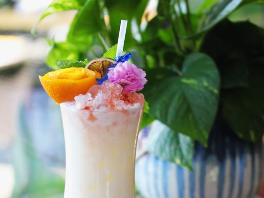 The Virgin Piña Colada is a mocktail at Clever Koi.