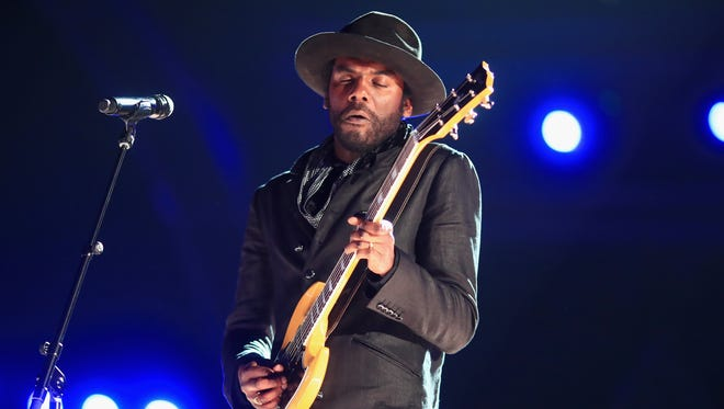 Gary Clark Jr., who will visit Freeman Stage at Bayside on July 17,   performs during the Grammy Awards last month.