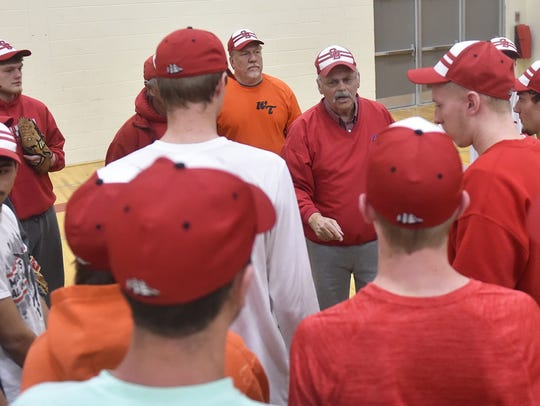 First-year Sturgeon Bay baseball coach John Berns,
