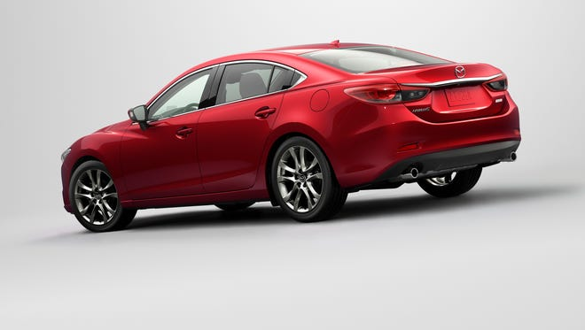 The 2016 Mazda6 uses the automaker's Skyactiv suite of technologies to weigh less, use less fuel and deliver sportier handling. Toyota has said it's interested in Skyactiv.