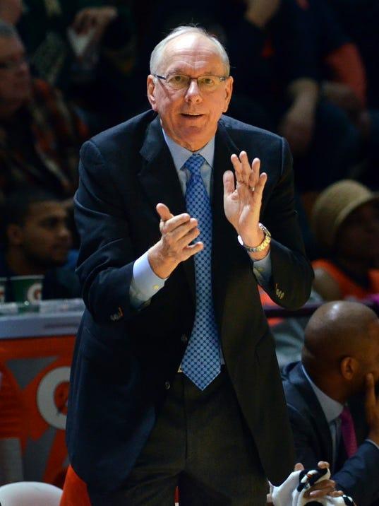USP NCAA BASKETBALL: SYRACUSE AT VIRGINIA TECH S BKC USA VA