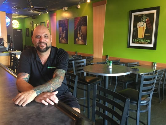 George Lukas own Ceno Grille in southwest Cape Coral.
