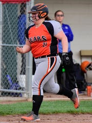Aubrey Fleming had three extra-base hits, including a home run Tuesday for Gibsonburg.