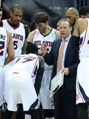 Atlanta squandered a 21-point lead before holding off
