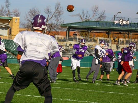 Brownsburg practiced at Victory Field last season.