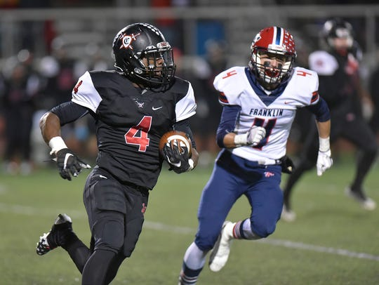 Livonia Churchill's Darrell Mason Jr. was selected to the All-KLAA Gold Division team.