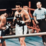 """Muhammad Ali """"made people accept him as a man, as an equal, and he was not afraid to represent himself in that way"""" NFL great Jim Brown said."""