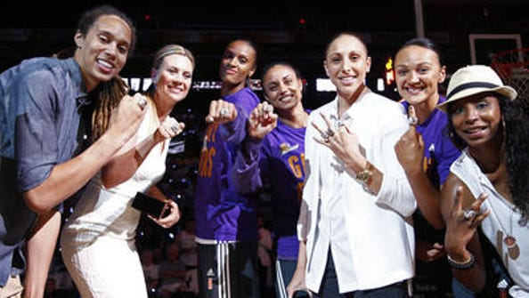 Penny Taylor, second from left, will be back with the