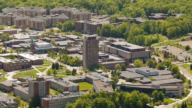 The Binghamton University campus in Vestal.