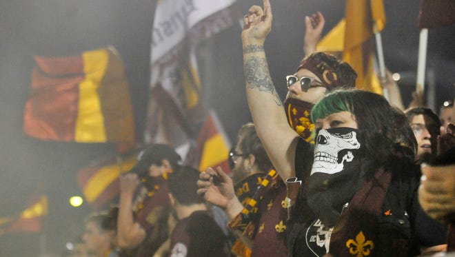 Detroit City FC will play 10 matches at its new home Keyworth Stadium in Hamtramck this season.