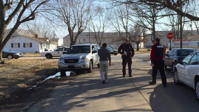 The Indianapolis Metropolitan Police Department is on the scene of a police action shooting on the Northwestside Wednesday, March 11, 2015.