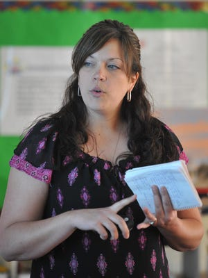 Kirsten Phillips was named principal of Charles Elementary School. on Wednesday.
