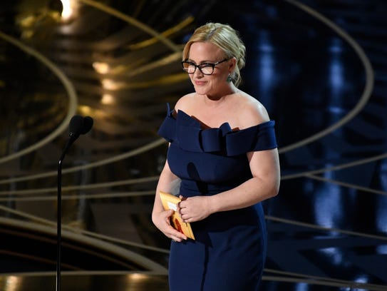 Patricia Arquette, an Oscar winner in 2015, presented