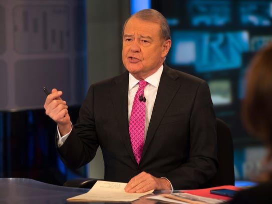 Stuart Varney on the set of Fox Business Network's 'Varney & Co.' The network touts how it has overtaken CNBC as the most watched business network. As its 10th anniversary hits this month, we look at how the network got there and what it has planned next.