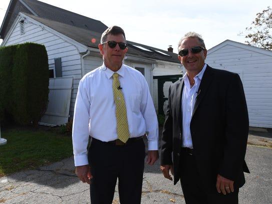Tom Heaney, left, and Robert 'Rocky' Kempenaar, two